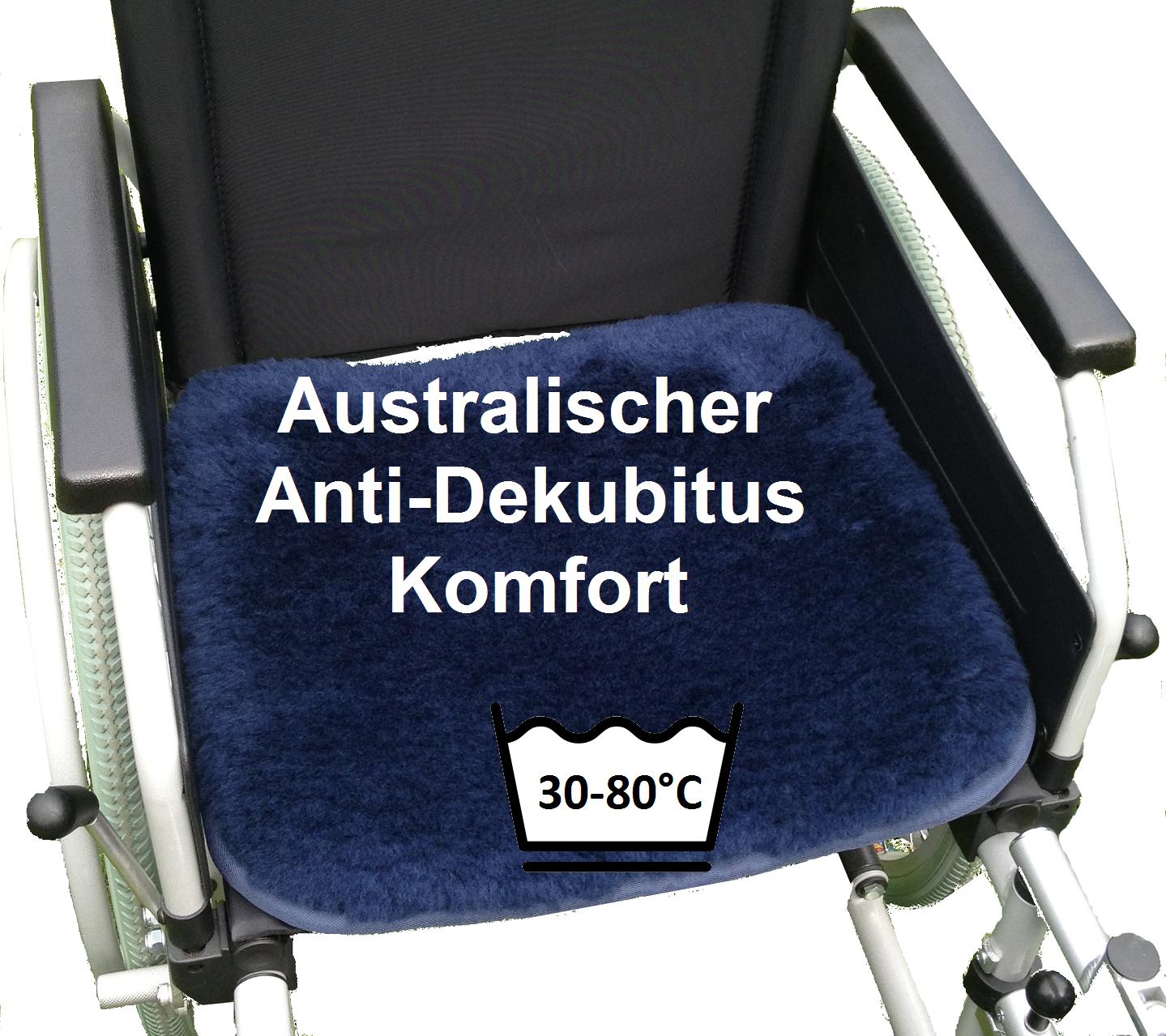 Australische Antidekubitus Sitzauflage Rollstuhl