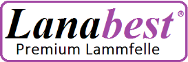 Lanabest Lammfell Sesselauflage, Sofaauflage, medizinisches Lammfell