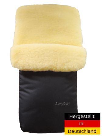 Lanabest Lammfell Fußsack waschen, Waschanleitung