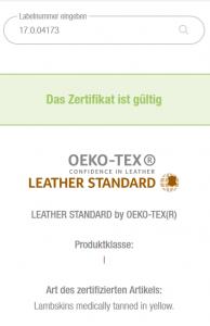 Lammfelle, schadstoffarm mit Öko-Tex Zertifikat