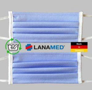 Behelfsmaske waschbar Lanamed aus Deutschland