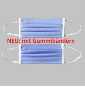 neu: Lanamed Behelfsmaske waschbar aus Deutschland mit Gummibändern