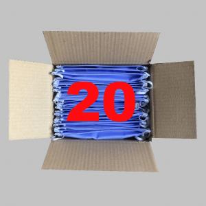 Behelfsmaske waschbar Lanamed aus Deutschland 20 Stück Mehrfachpackung