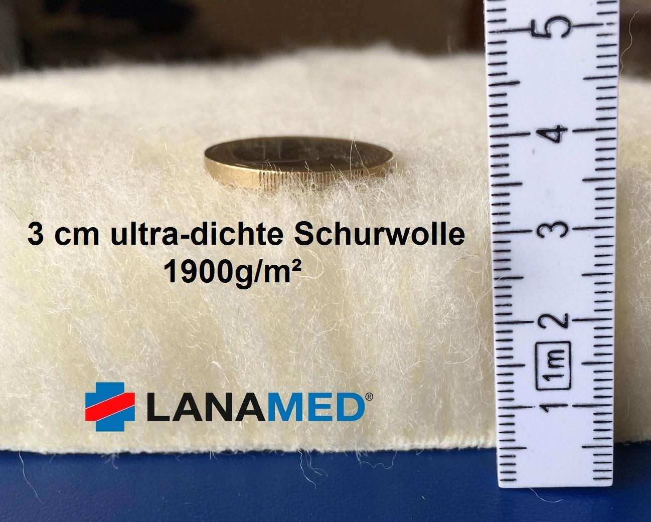 Lammfellkomfort aus ultradichter Schurwolle